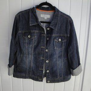 Distressed Merona XL Denim Jacket